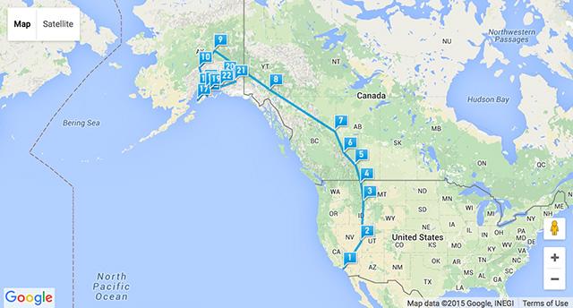Canada Alaska 2015